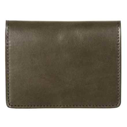 Filson Passport and Card Case - Leather in Moss - Closeouts