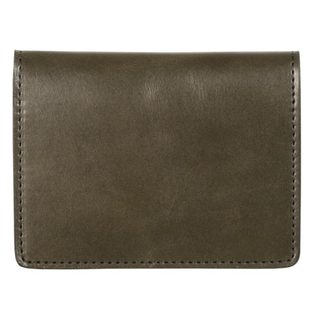 Filson Passport and Card Case - Leather in Moss