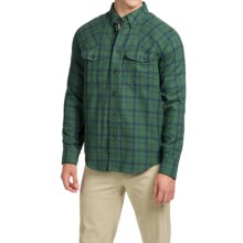 Filson Plaid Hunting Shirt - Long Sleeve (For Men) in Green Blue - Closeouts
