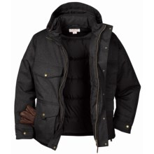 Filson Portage Bay Jacket - Waterproof, Insulated (For Men) in Black - Closeouts