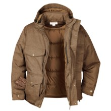 Filson Portage Bay Jacket - Waterproof, Insulated (For Men) in Dark Tan - Closeouts