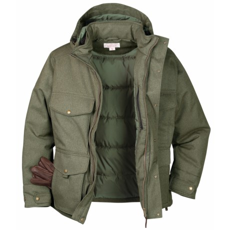 Filson Portage Bay Jacket - Waterproof, Insulated (For Men) in Otter Green