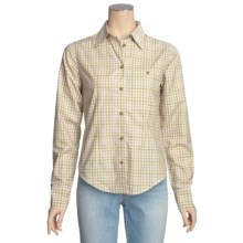 Filson Prairie Cotton Plaid Shirt - Long Sleeve (For Women) in Green Multi - Closeouts