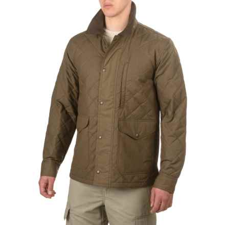 Filson Quilted Mile Marker Jacket - Insulated (For Men and Big Men) in Marsh Olive - Closeouts
