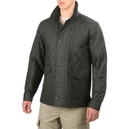 Filson Quilted Mile Marker Jacket - Insulated (For Men and Big Men) in Navy Grey - Closeouts