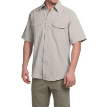 Filson Rainier Shirt - Short Sleeve (For Men) in Desert Tan - Closeouts