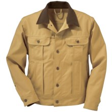 Filson Ranch Jacket - Tin Cloth (For Men) in Dark Tan - Closeouts