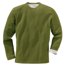 Filson Reversible T-Shirt - Pima Cotton, Long Sleeve (For Men) in Green - Closeouts