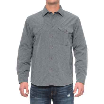 Filson Right-Handed Shooting Shirt - Long Sleeve (For Men) in Carbon Blue - Closeouts