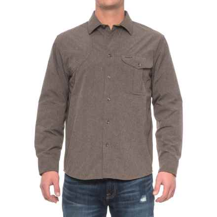 Filson Right-Handed Shooting Shirt - Long Sleeve (For Men) in Mulch - Closeouts
