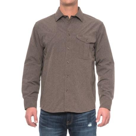 Filson Right-Handed Shooting Shirt - Long Sleeve (For Men) in Mulch