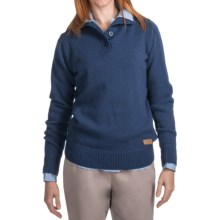 Filson Riverside Lodge Pullover Sweater - Lambswool (For Women) in Blue Indigo - Closeouts