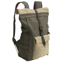 Filson Roll-Top Backpack in Otter Green Olive - Closeouts