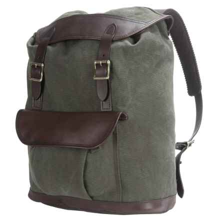 Filson Rugged Canvas Backpack in Otter Green - Closeouts