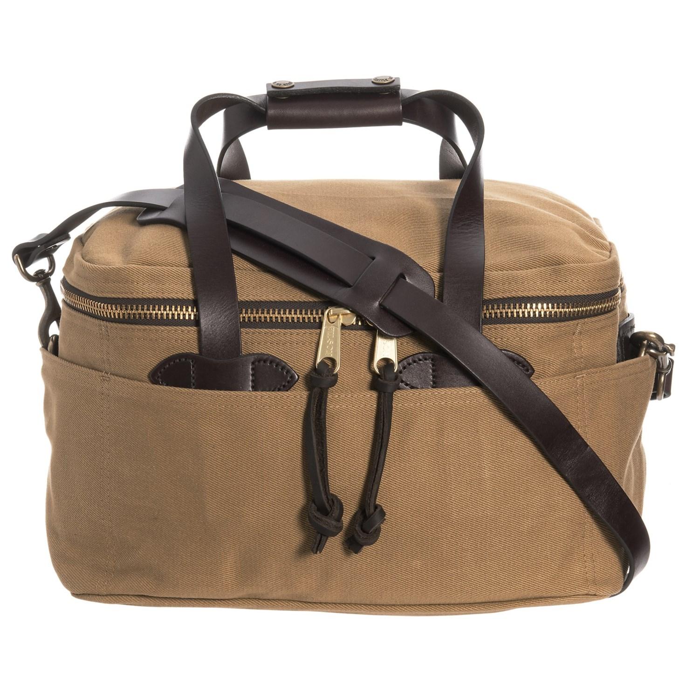 455466fa0363 Filson Rugged Twill Compartment Bag - Small - Save 38%
