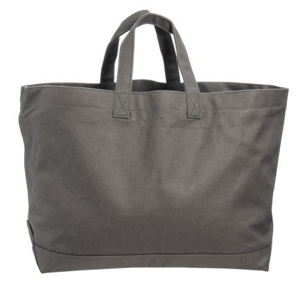 3e64a9123fc68 Filson Rugged Twill Supply Tote Bag in Lead Gray - Closeouts