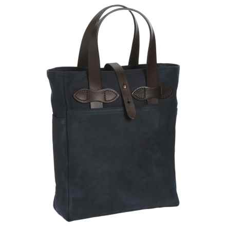 Filson Rugged Twill Wine Tote Bag in Navy - Closeouts
