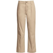 Filson Safari Cloth Pants - Straight Leg, 6 oz. Cotton (For Women) in Desert Tan - Closeouts