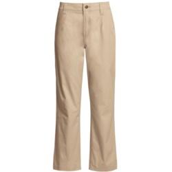 Filson Safari Cloth Pants - Straight Leg, 6 oz. Cotton (For Women) in Desert Tan