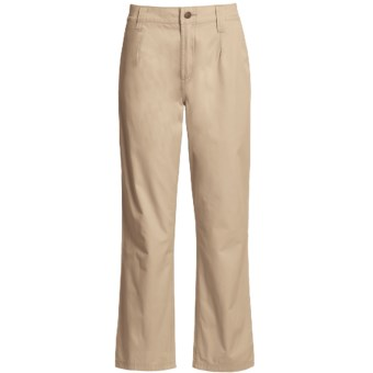 Filson Safari Cloth Pants - Straight Leg, 6 oz. Cotton (For Women) in Desert Tan