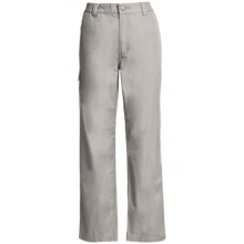 Filson Safari Cloth Travel Pants - Elastic Back, 6 oz. Cotton (For Women) in Dovetail Grey - Closeouts