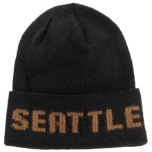 Filson Seattle Beanie - Wool (For Men and Women) in Black/Tan - Closeouts