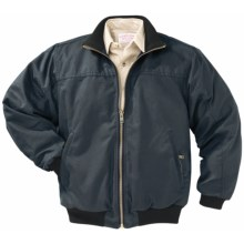 Filson Shelter Cloth Big Creek Jacket - Wool-Lined (For Men) in Navy - Closeouts