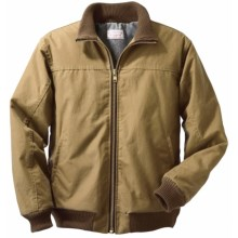 Filson Shelter Cloth Big Creek Jacket - Wool-Lined (For Men) in Tan - Closeouts