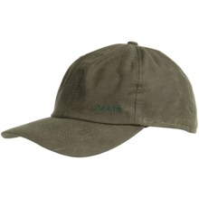 Filson Shelter Cloth Cap - Wool Ear Flaps, Insulated (For Men) in Otter Green - Closeouts