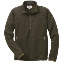 Filson Shooting Sweater Pullover - Polartec® Thermal Pro®, Zip Neck (For Men) in Otter Green - Closeouts