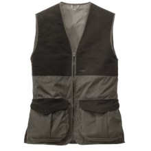 Filson Shooting Vest - Cover Cloth (For Men) in Otter Green - Closeouts