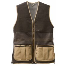 Filson Shooting Vest - Mesh (For Men) in Dark Tan - Closeouts