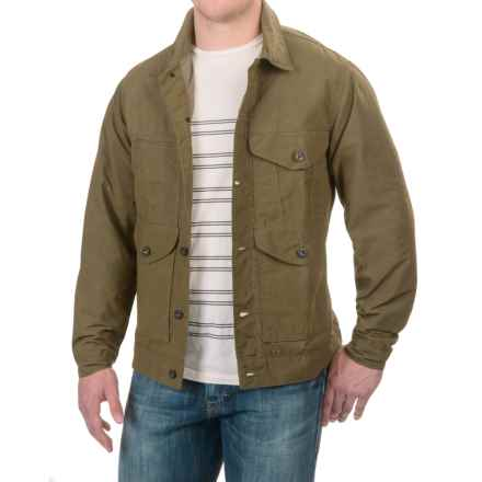 Filson Short Lined Cruiser Jacket (For Men) in Olive - Closeouts