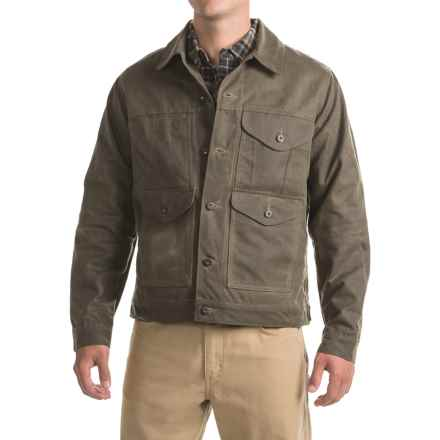 Filson Short Lined Cruiser Jacket (For Men) in Wax Brown - Closeouts