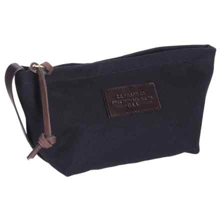 "Filson Small Rugged Twill Travel Kit - 5.5x7x4"" in Navy - Closeouts"