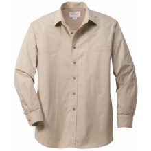 Filson SPF Shooting Shirt - Long Sleeve (For Men) in Desert Tan - Closeouts