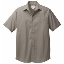Filson SPF Shooting Shirt - Short Sleeve (For Men) in Olive Green - Closeouts