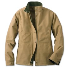 Filson Tin Cloth Creek Jacket (For Women) in Dark Tan - Closeouts