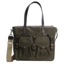 Filson Tote Briefcase in Otter Green/Green - Closeouts