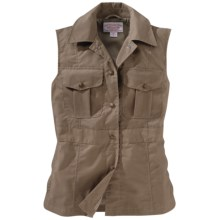 Filson Travel Vest (For Women) in Tan - Closeouts