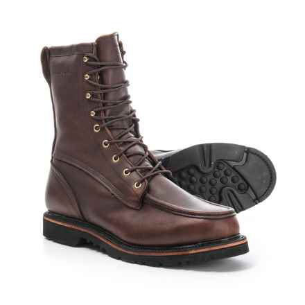Filson Uplander Leather Boots - Waterproof, Insulated (For Men) in Brown - Closeouts