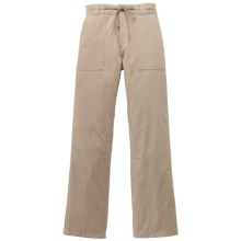 Filson Voyage Pants - Cotton Poplin Blend (For Women) in Desert Tan - Closeouts