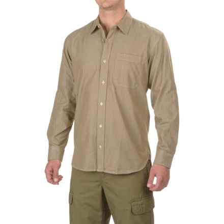 Filson Westport Chambray Shirt - Long Sleeve (For Men) in Dark Tan - Closeouts