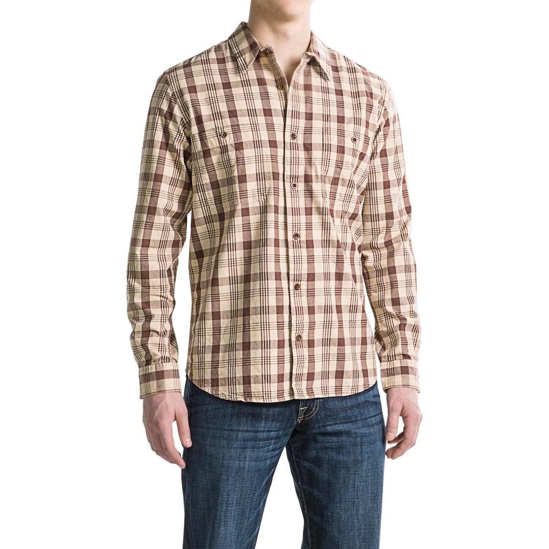 Filson Wildwood Shirt (For Men and Big Men) - Save 48%
