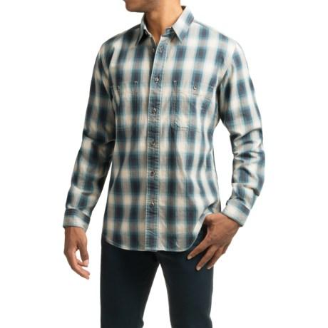 Filson Wildwood Shirt - Long Sleeve (For Men) in Blue/Gray