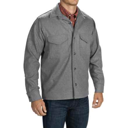 Filson Wool Shirt Jacket (For Men) in Dark Gray - Closeouts