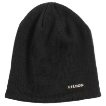 Filson Wool Skull Cap (For Men and Women) in Black - Closeouts