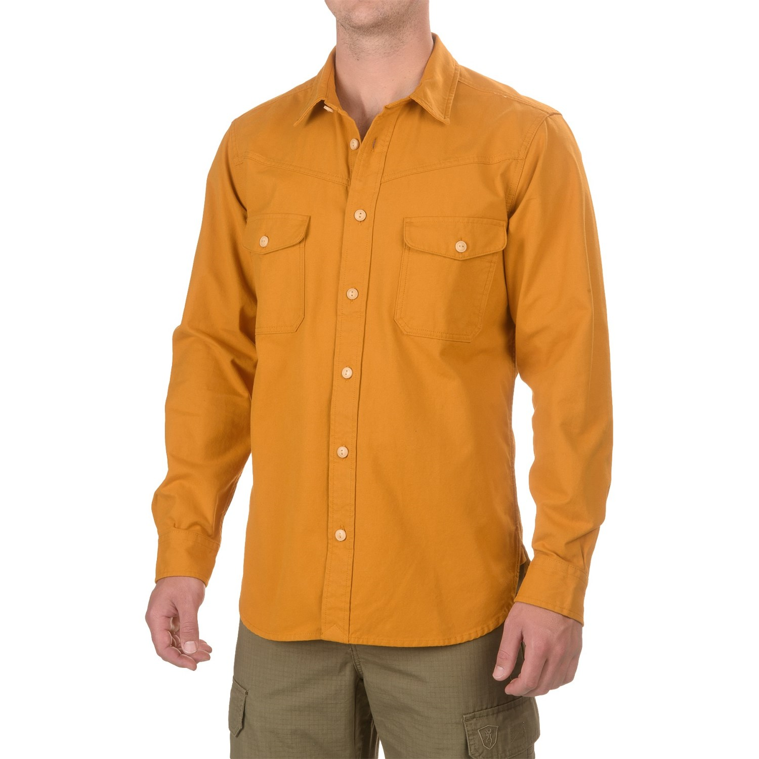 Filson Yukon Chamois Shirt (For Men and Big Men) - Save 80%