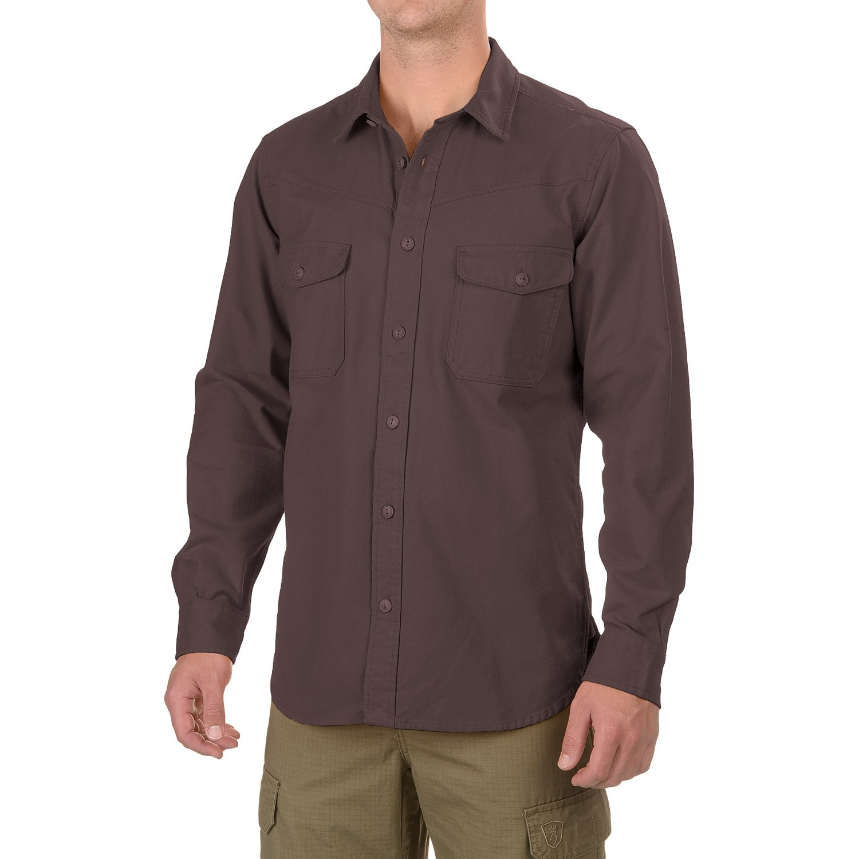 Filson Yukon Chamois Shirt (For Men and Big Men) - Save 65%