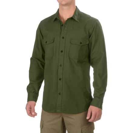 Filson Yukon Chamois Shirt - Long Sleeve (For Men and Big Men) in Dark Forest - Closeouts